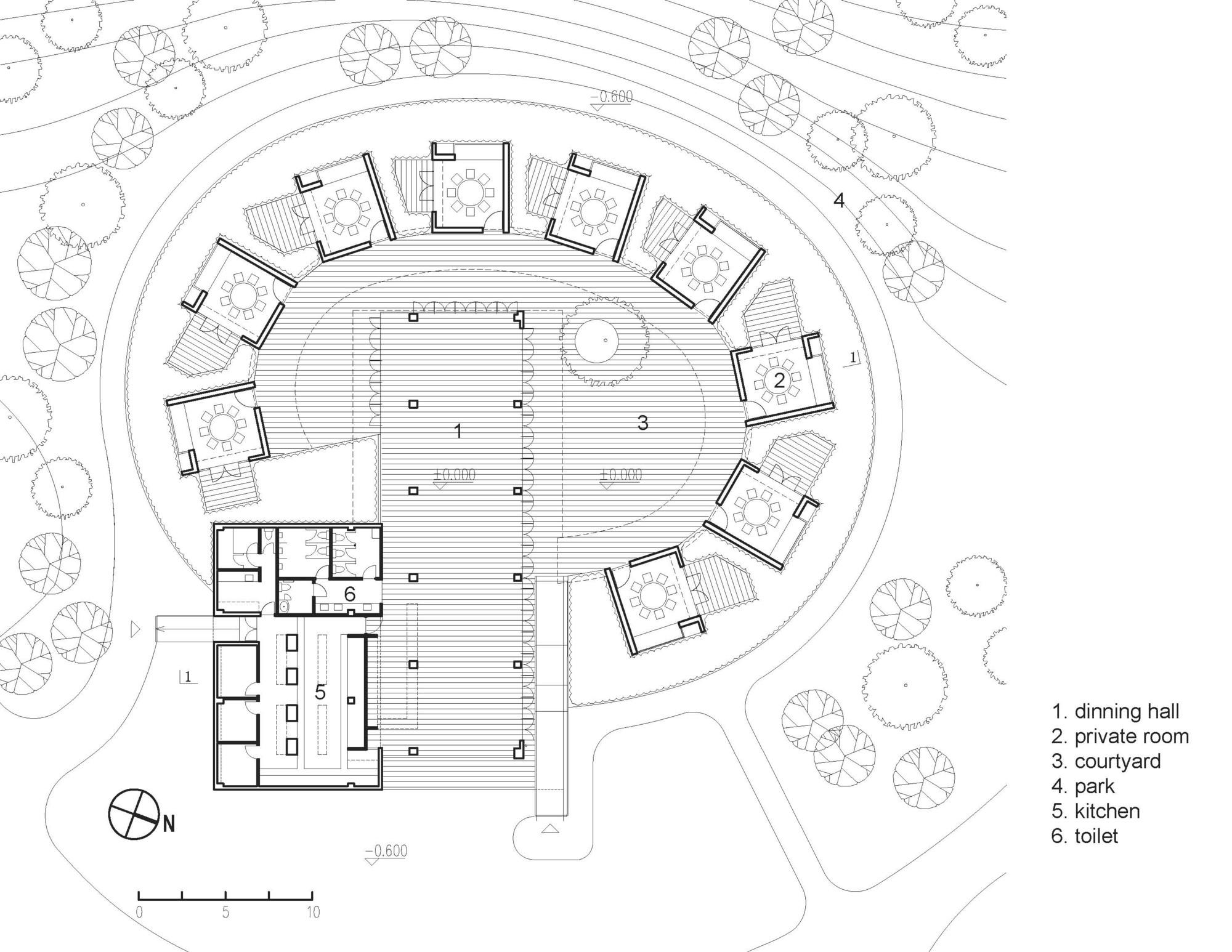 Gallery Of Daidai Pavilion Pro Form Architects 8