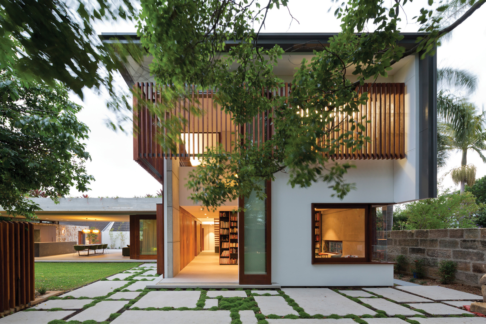 Home Design In Sri Lanka Hunters Hill House Arkhefield Archdaily