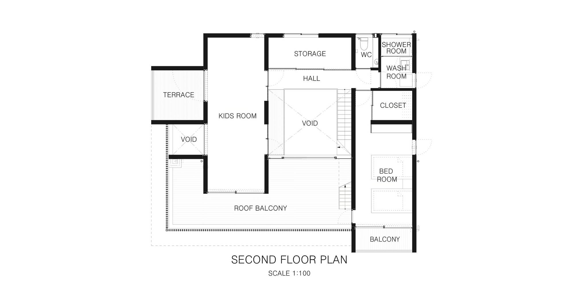 2nd Floor House Plans Gallery Of Foo Apollo Architects And Associates 17