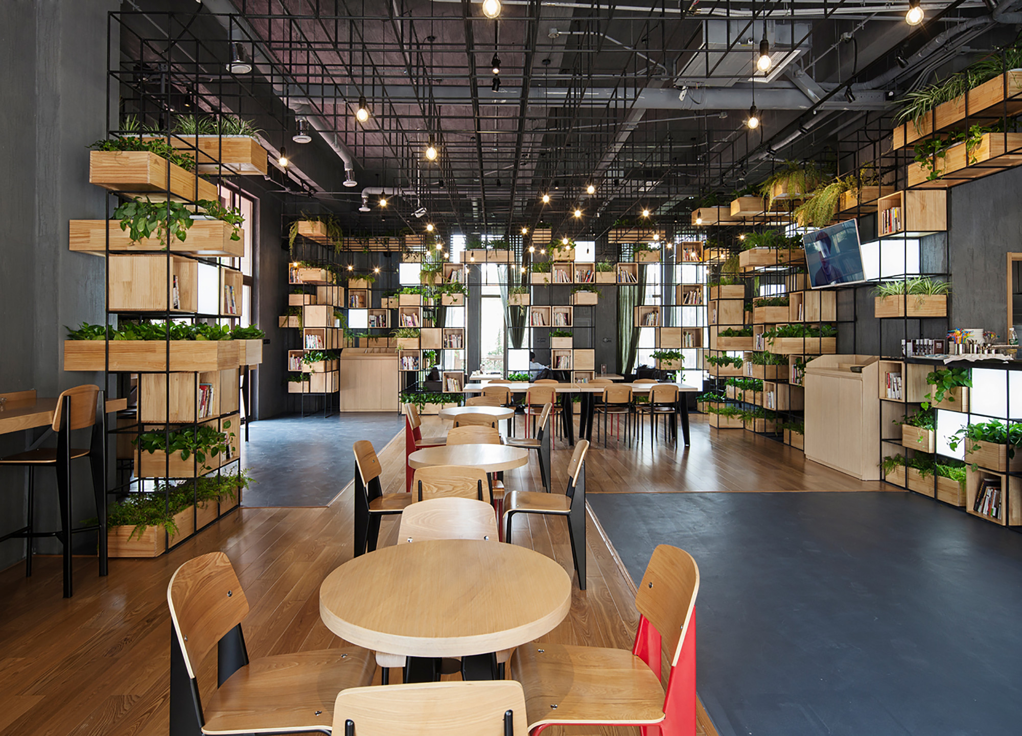 Green Cuisine Cafe Gallery Of Home Cafes Penda 6