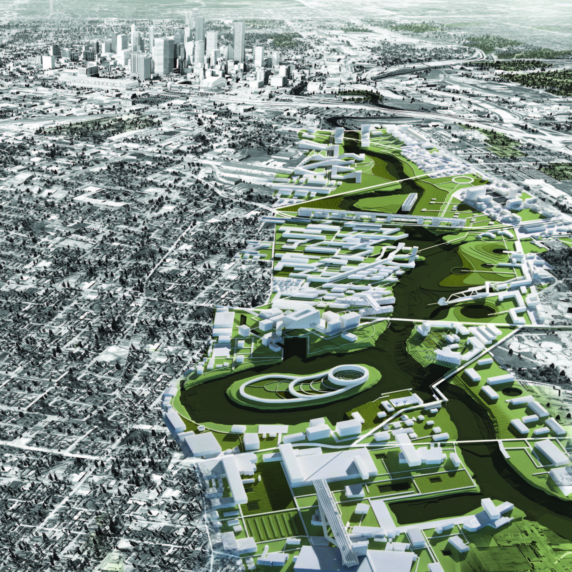 Landscape Architect Houston A Walk Along The Bayou An Award Winning Proposal Aims To Reinvent Houston S River