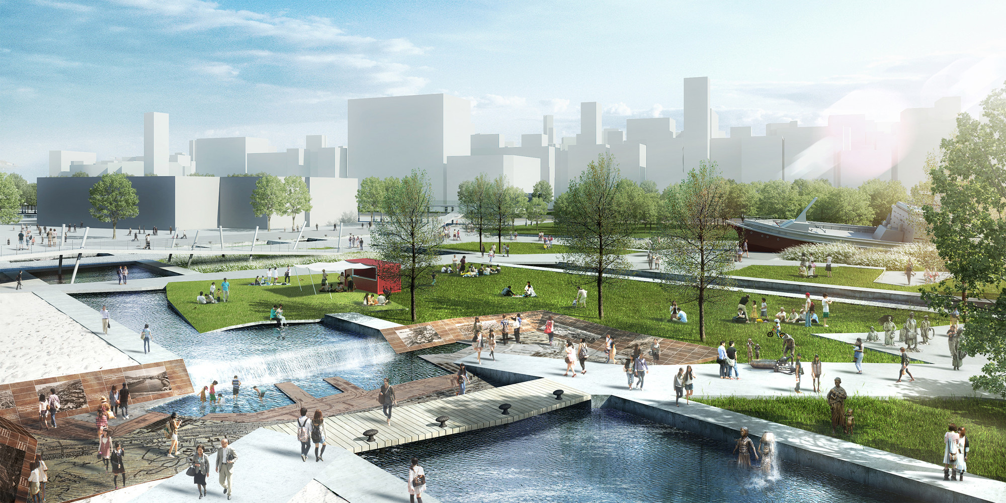 Image06_North_Port_Story_Memorial Culture Park Urban Design Competition