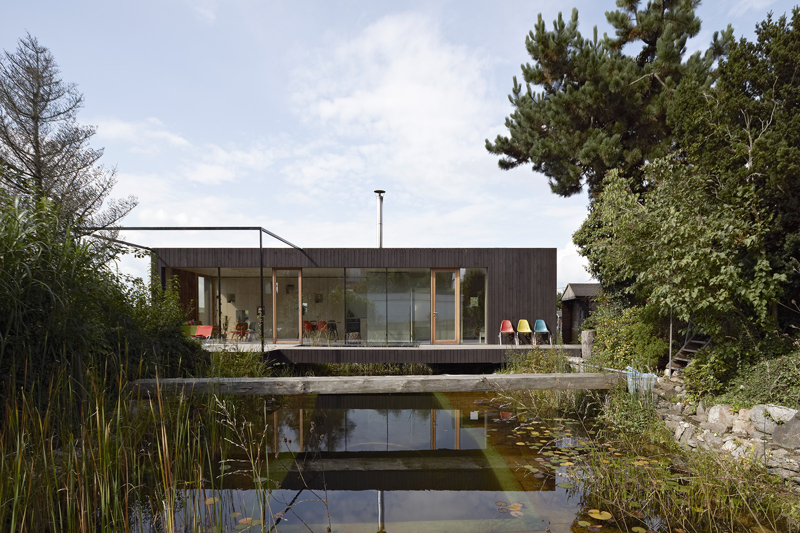 Container Haus Wien House At The Pond Hpsa Archdaily