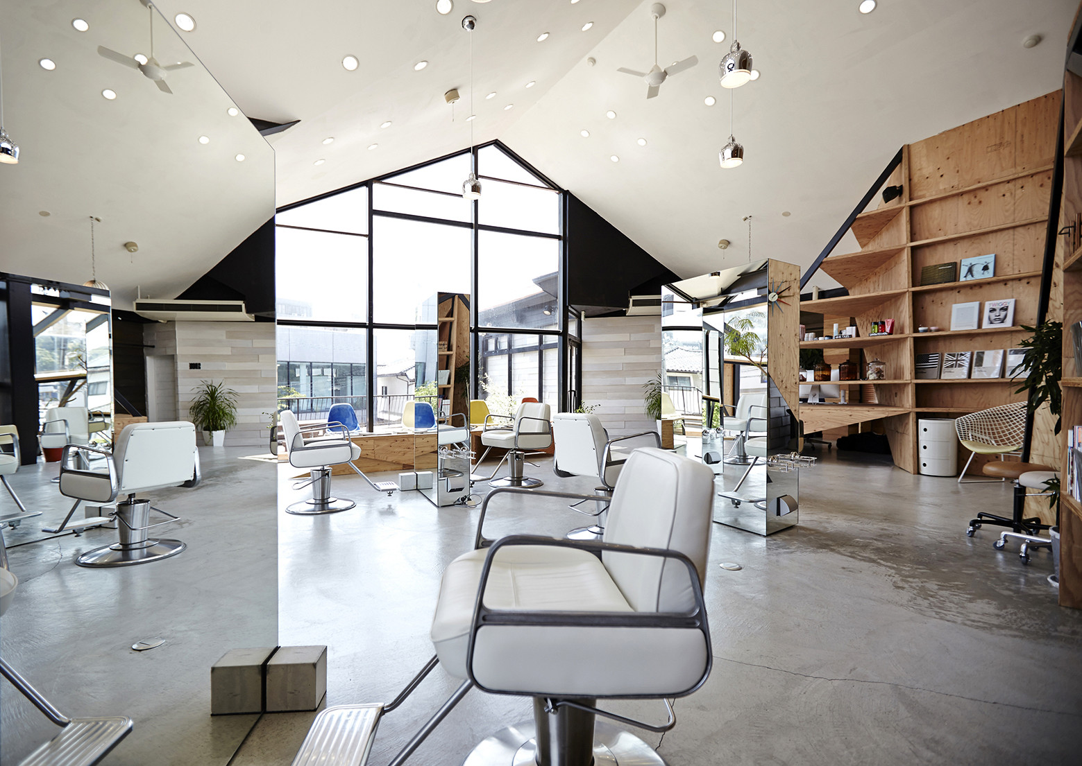 Salon Architecture Hair Salon Slundre Bhis Archdaily