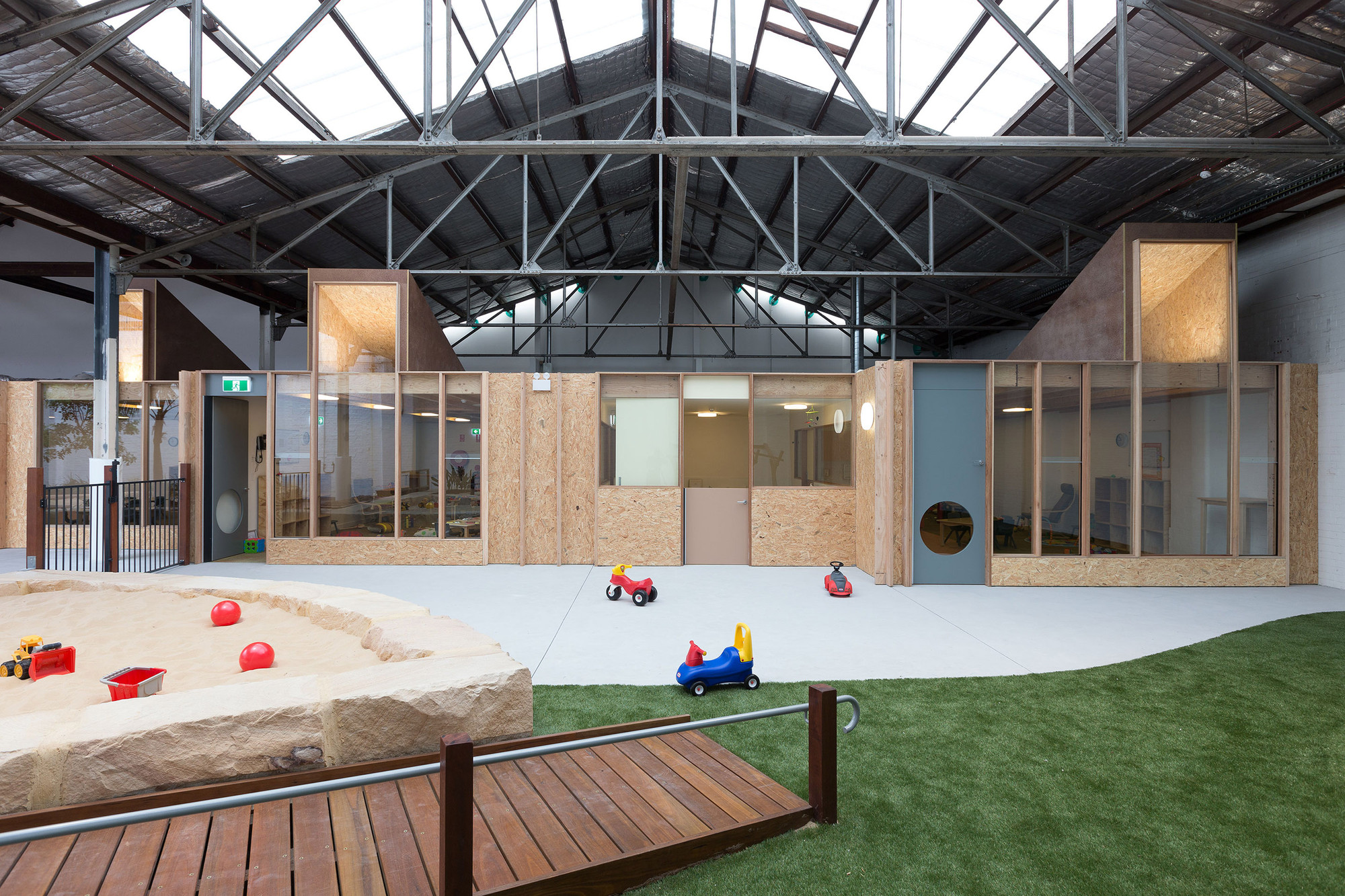 Child Care Centres Parramatta Camperdown Childcare Co Ap Archdaily