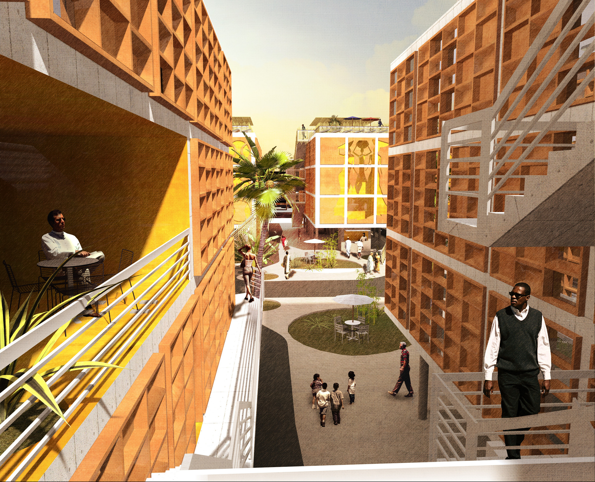Architectural Design Of Residential Building 7 Architects Designing A Diverse Future In Africa Archdaily