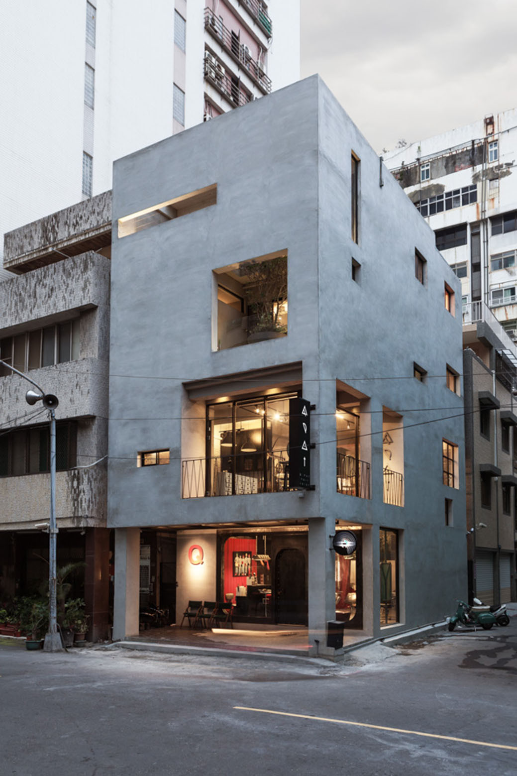 Salon Architecture Renovation Of Split Level Hair Salon And Residential Hao