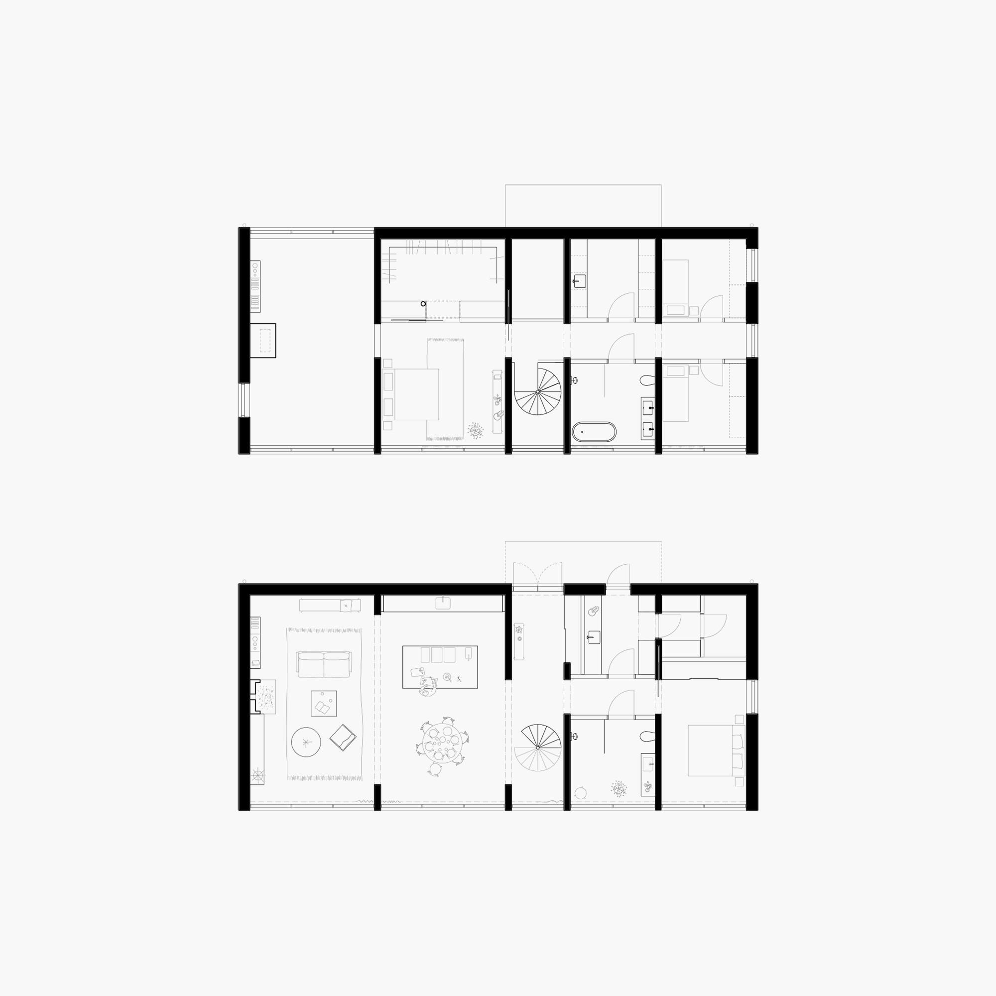 Six Walls House Arrhov Frick Arkitektkontor Archdaily