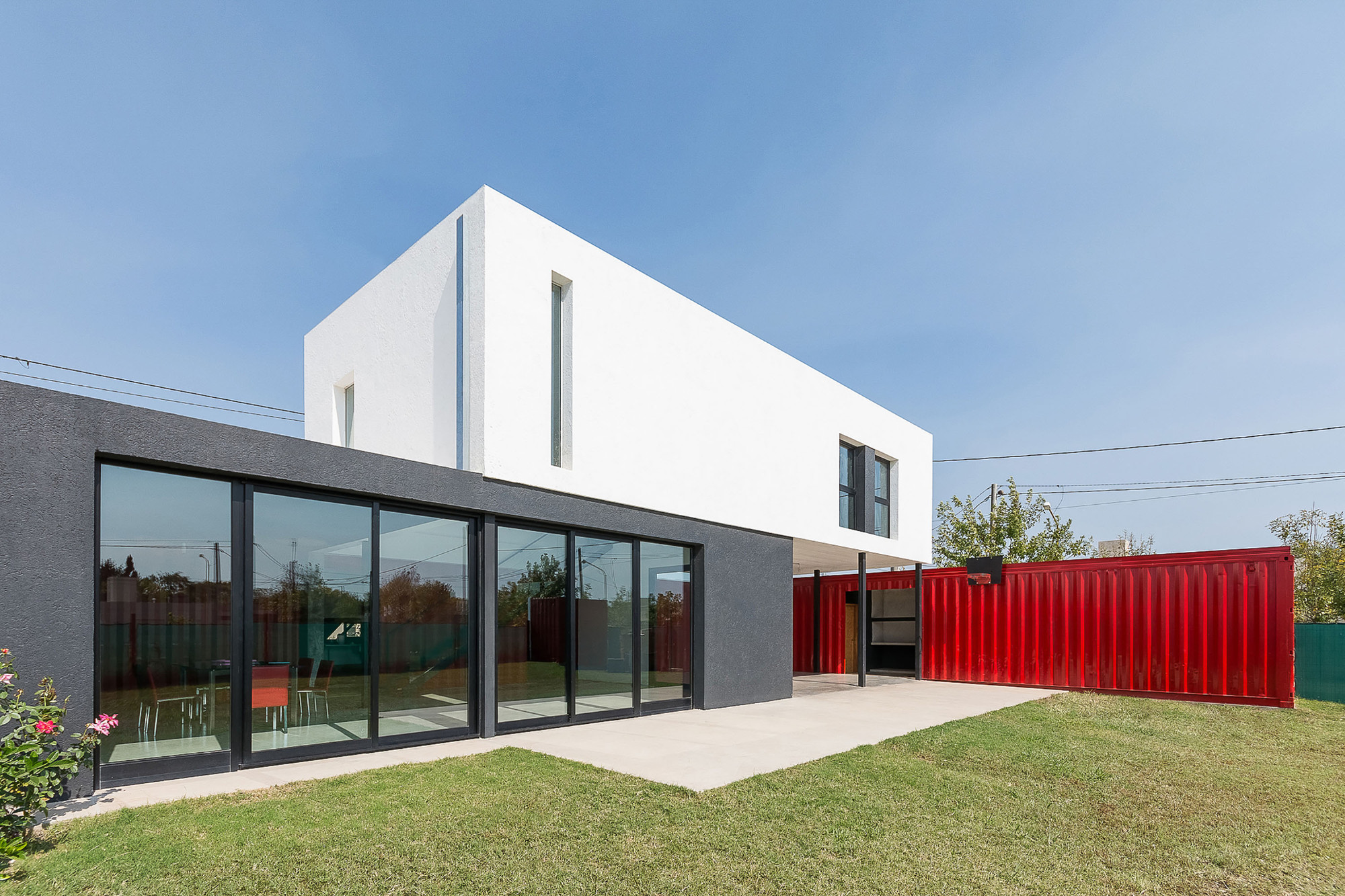 Container Haus Modern Container House José Schreiber Arquitecto Archdaily
