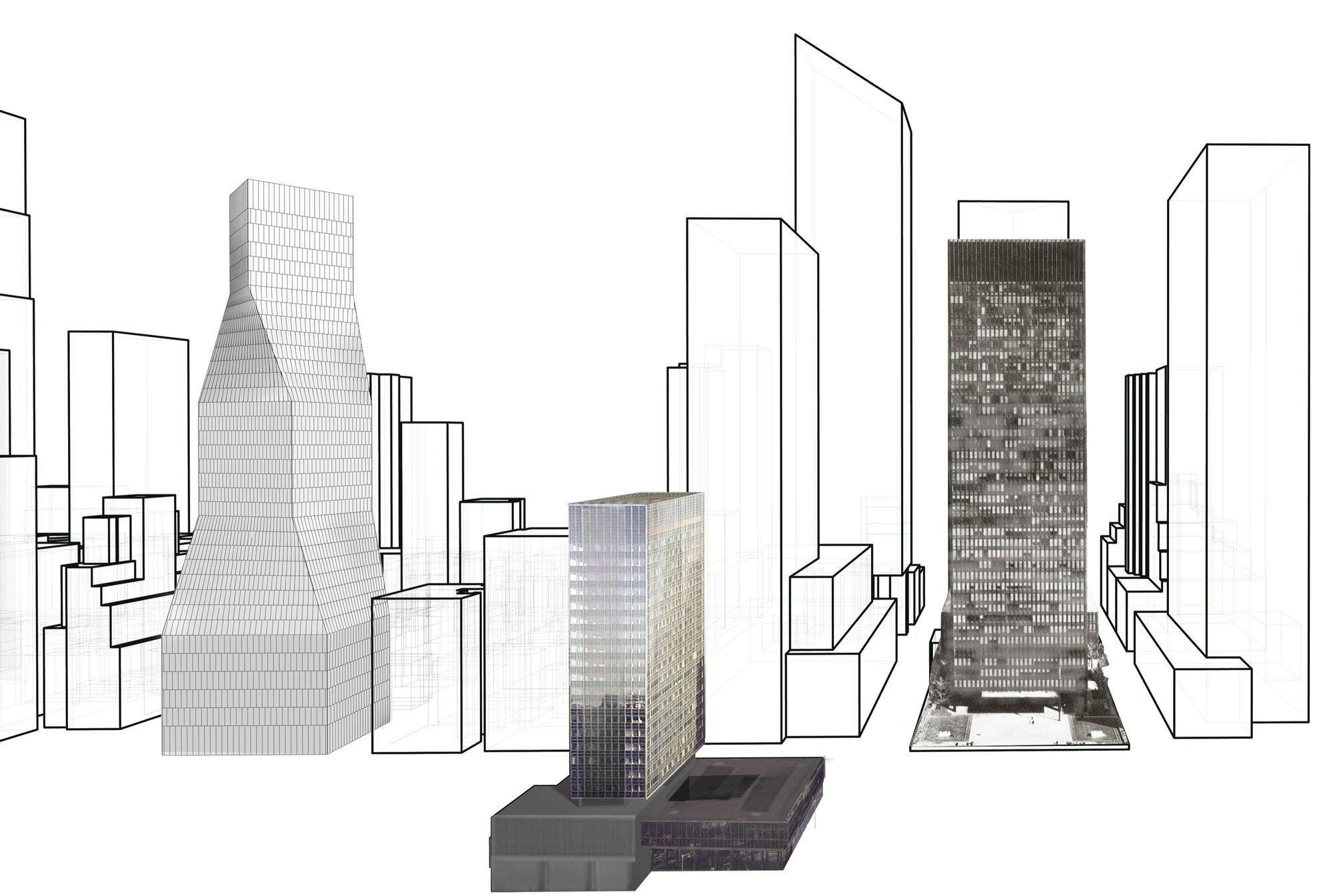 Att Architekten Gallery Of 425 Park Avenue Oma 39s Proposal 9