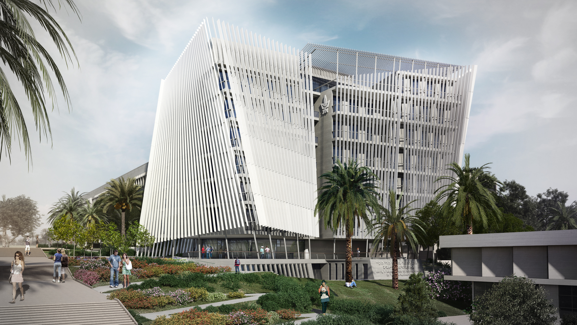 Centre Commercial Buld Air O2as Proposed Tel Aviv University Building Controls
