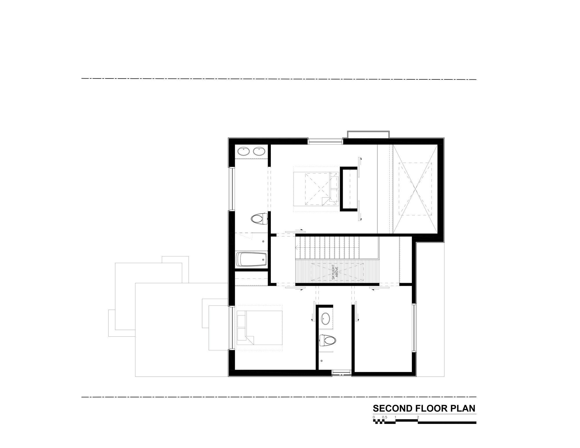 2nd Floor House Plans Gallery Of Thorax House Rzlbd 14
