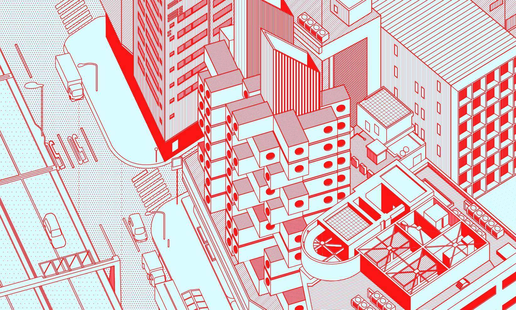 Architectual Illustrations Gallery Of These Fantastical Architectural Illustrations