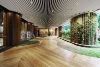 Office Lobby / 4N design architects   ArchDaily