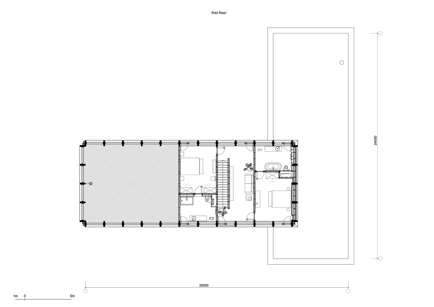 Bureau 1m Gallery Of Guest Bath House Fas T Architectural Bureau 21