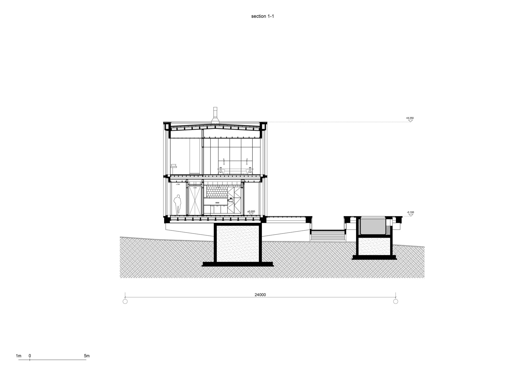 Bureau 1m Gallery Of Guest Bath House Fas T Architectural Bureau 22