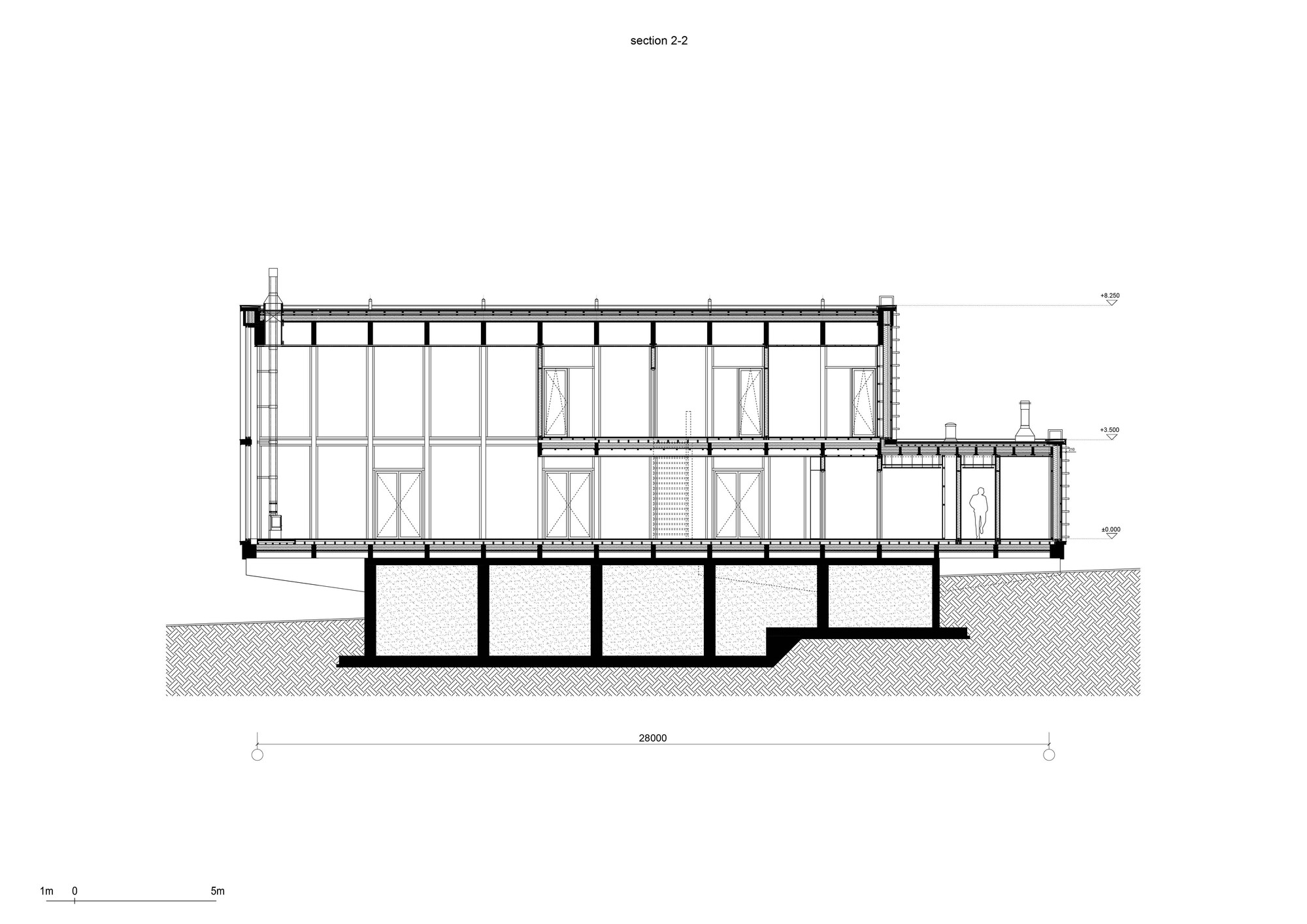 Bureau 1m Gallery Of Guest Bath House Fas T Architectural Bureau 23