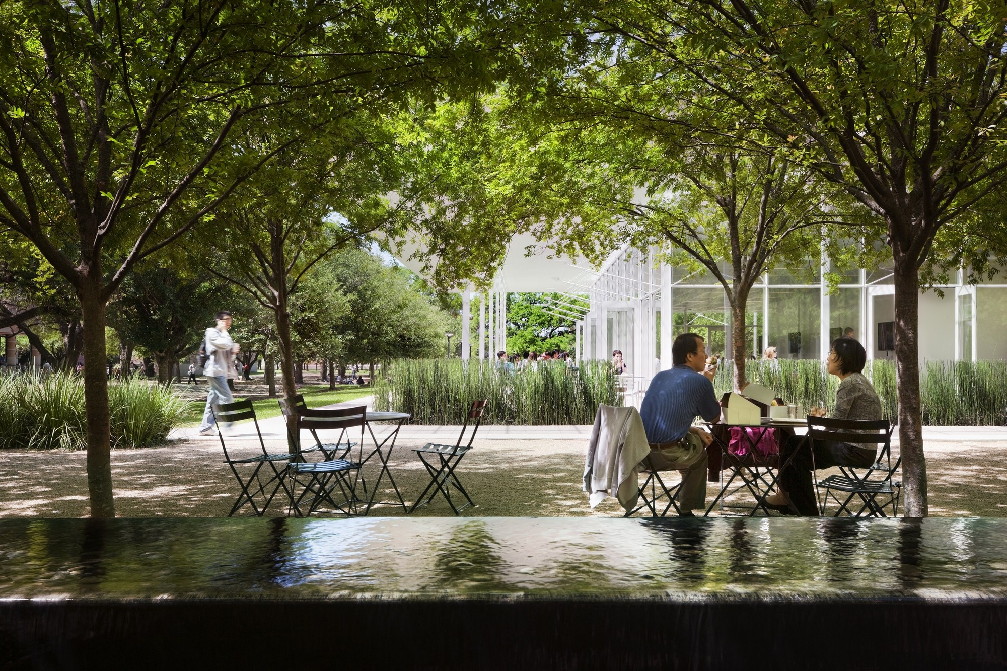 Landscape Architect Houston Brochstein Pavilion Thomas Phifer And Partners Archdaily