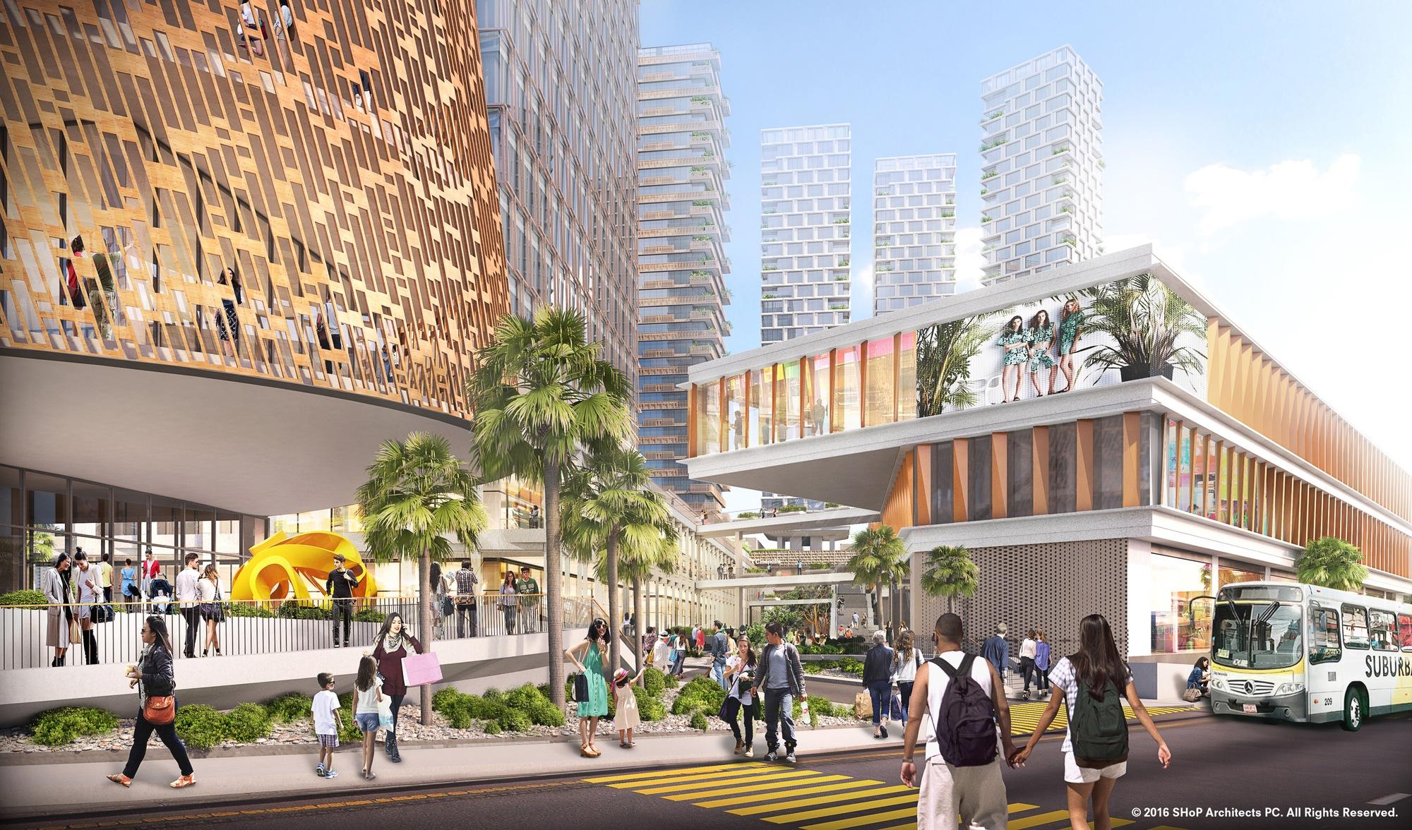 3d Brick Wallpaper Philippines Iniciadas As Obras Do Complexo Multiuso Projetado Pelo