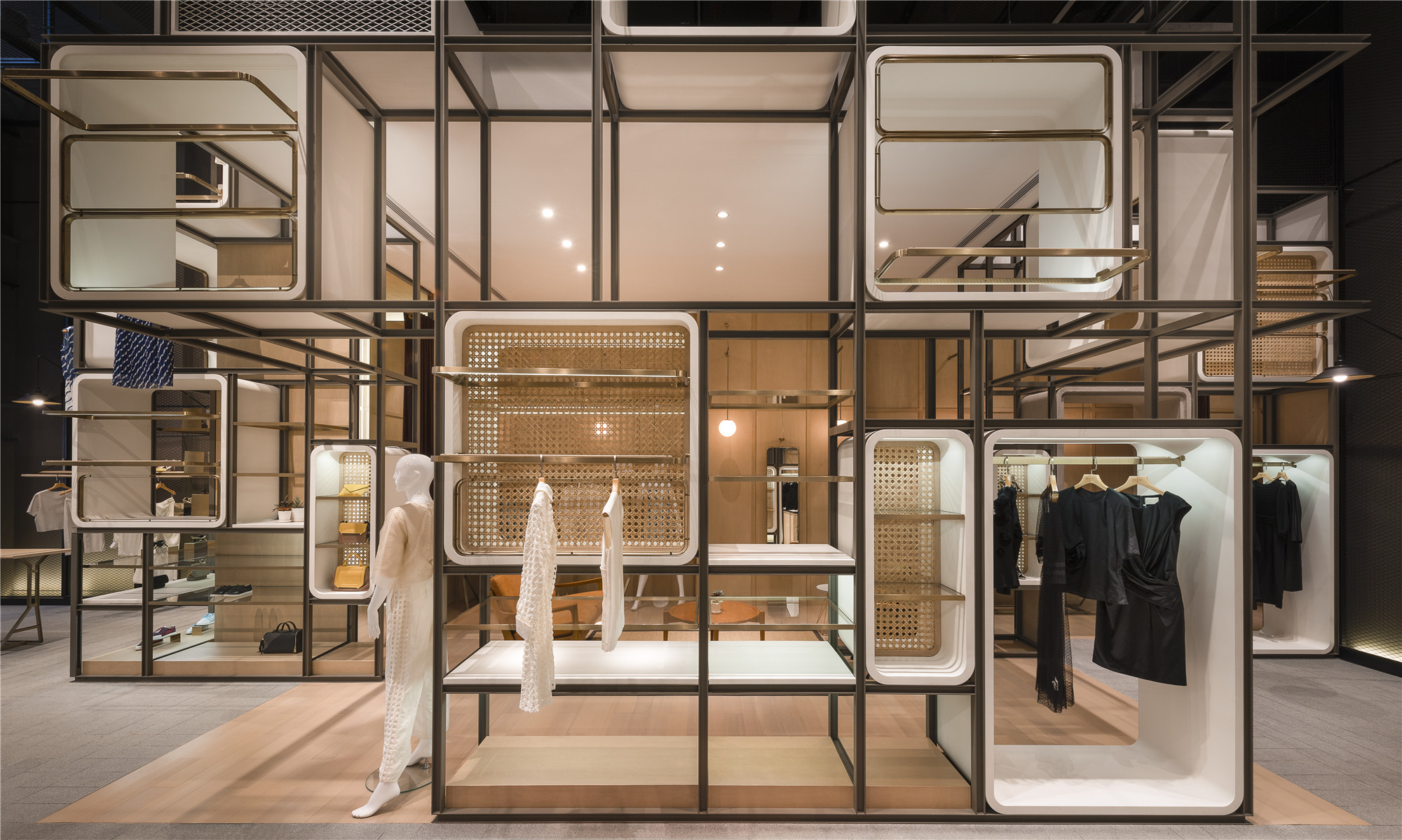 Business Plan Boutique Decoration The Modular Lilong Lukstudio Archdaily