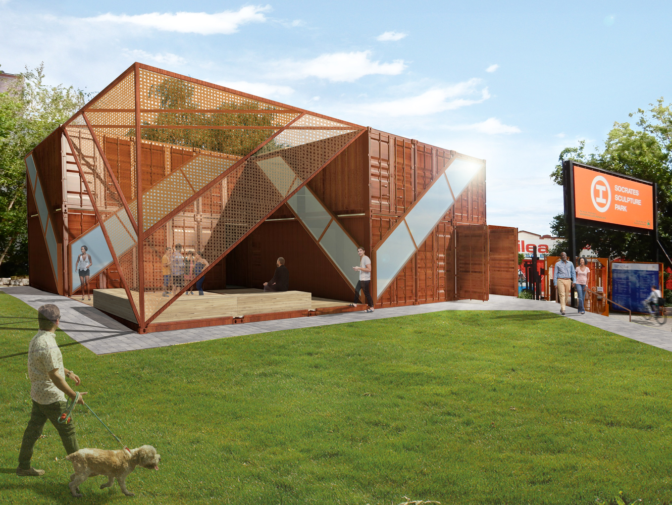 Container Haus Cube Gallery Of Lot Ek Architecture Uses Recycled Shipping Containers For