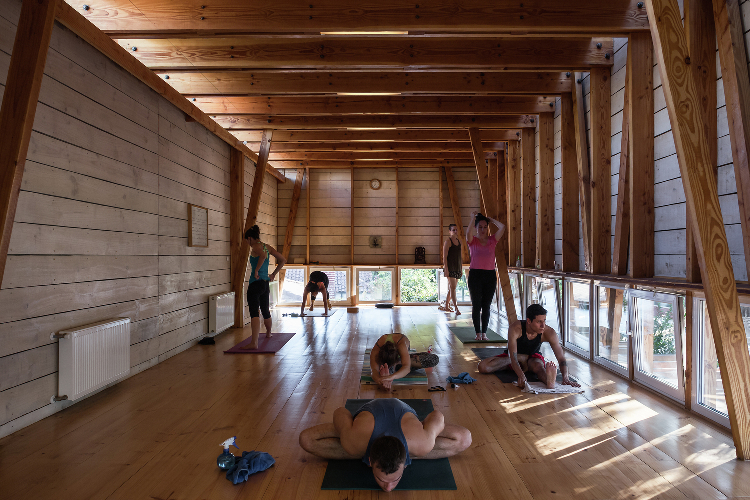 Salones Spa The Key Architectural Elements Required To Design Yoga And