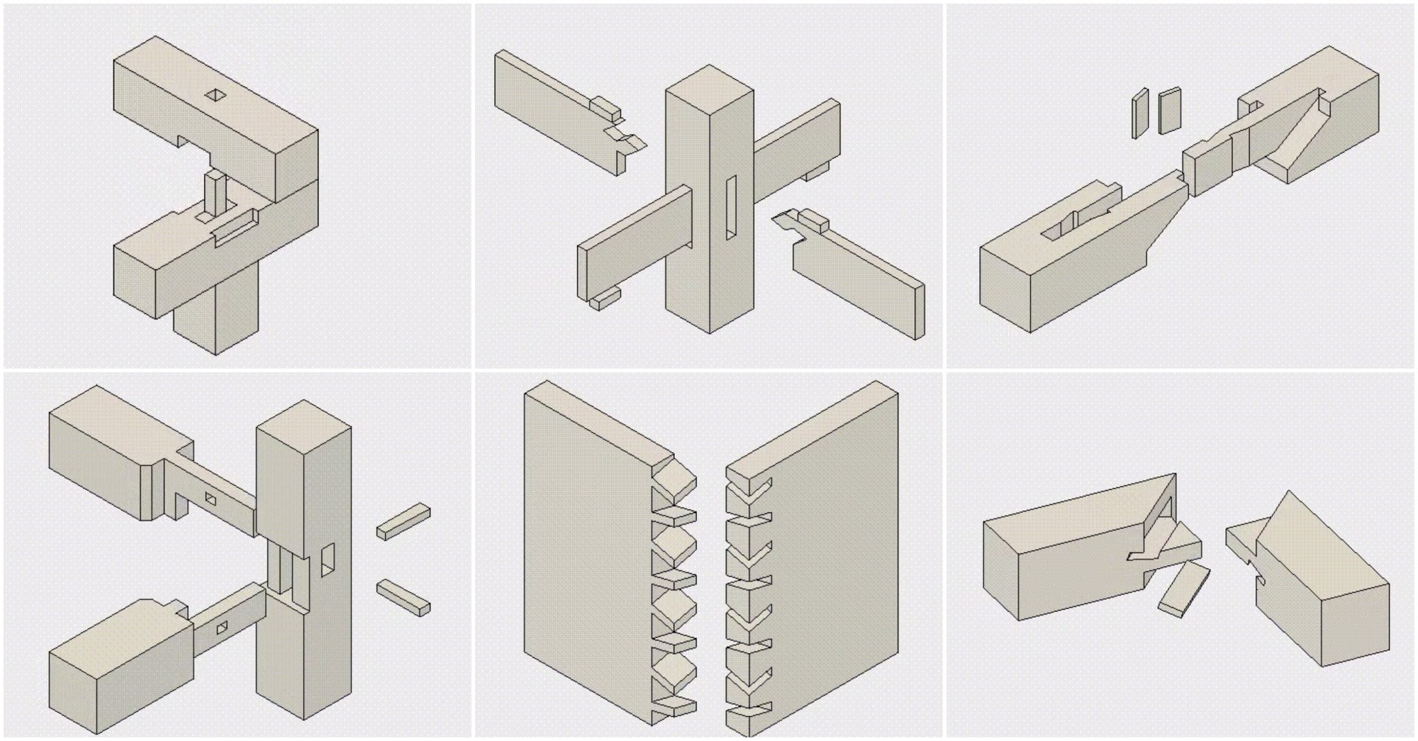 These Mesmerizing Gifs Illustrate The Art Of Traditional Japanese Wood Joinery Archdaily