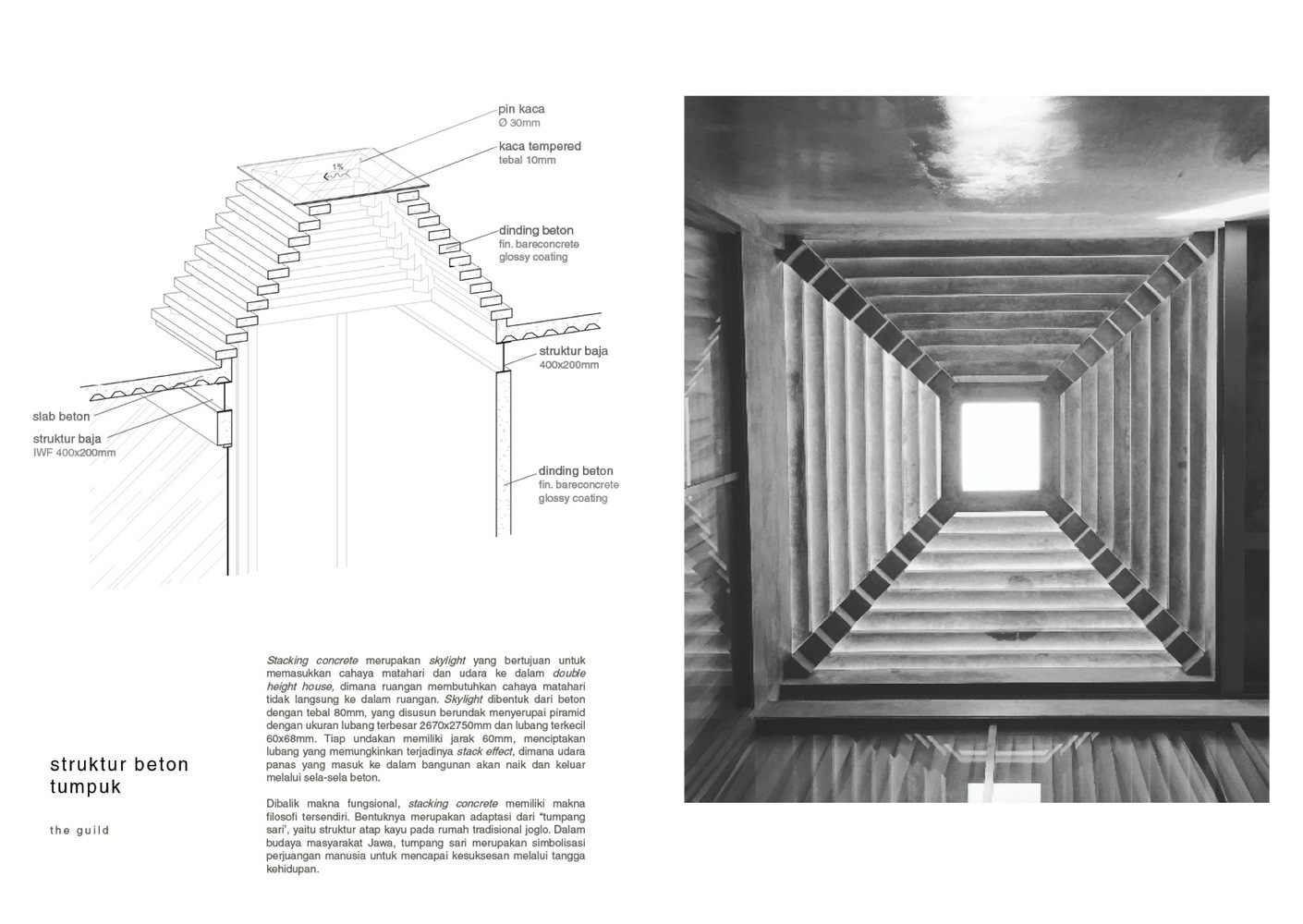 Struktur Atap Joglo Gallery Of The Guild Raw Architecture 47