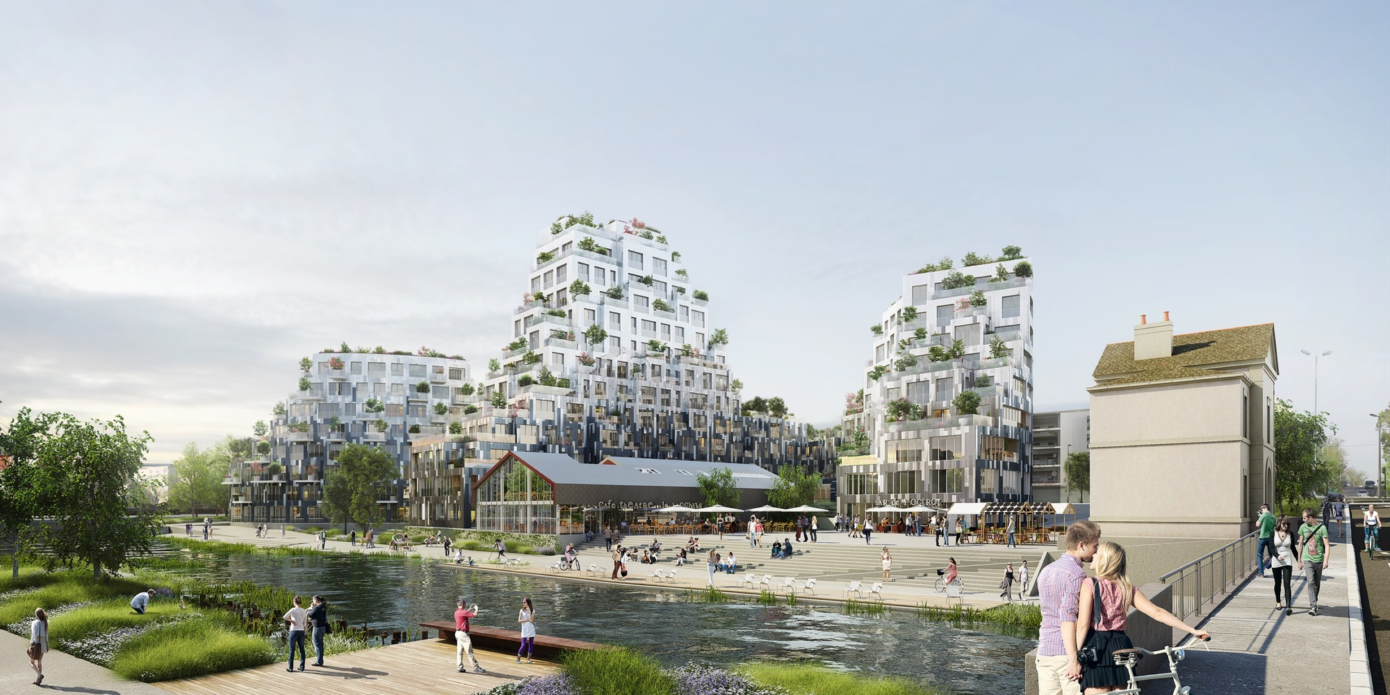 Rennes Architecture Mvrdv Wins Competition In France With Residential