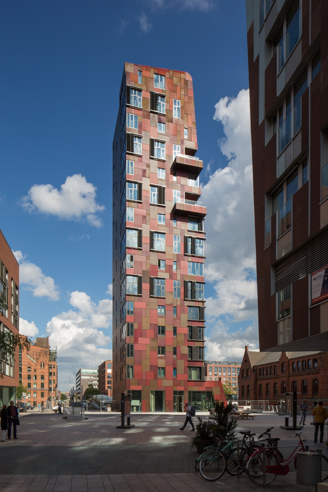 Tower Hamburg Cinnamon Tower And Pavilion / Bolles + Wilson | Archdaily