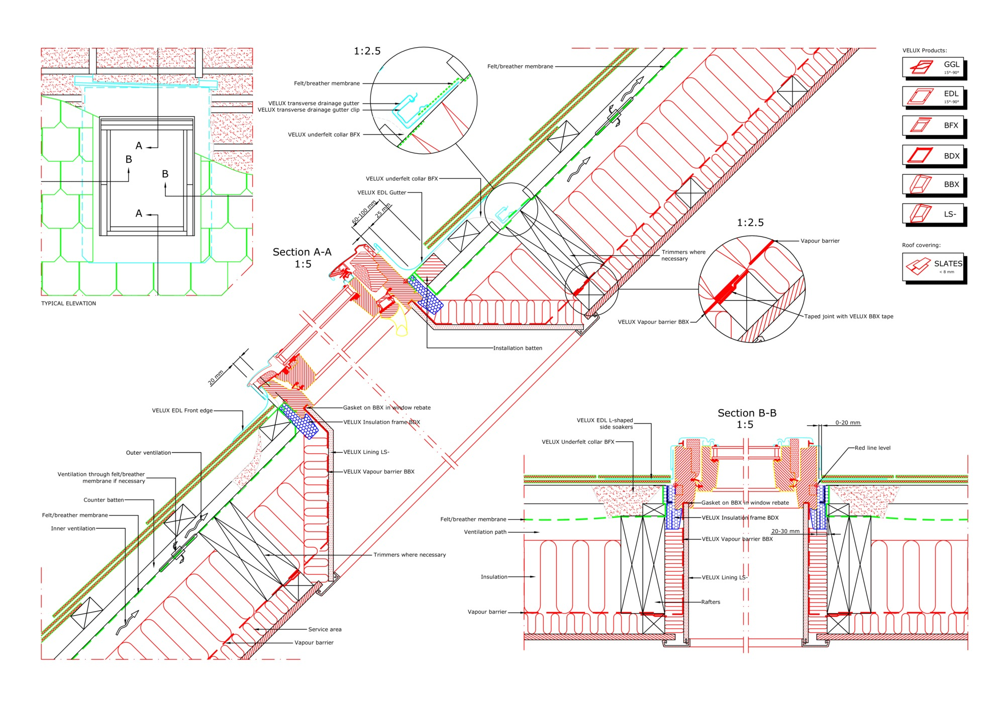 2??cad??? 16 Cad Files Of Roof Windows And Light Tubes Available For Your