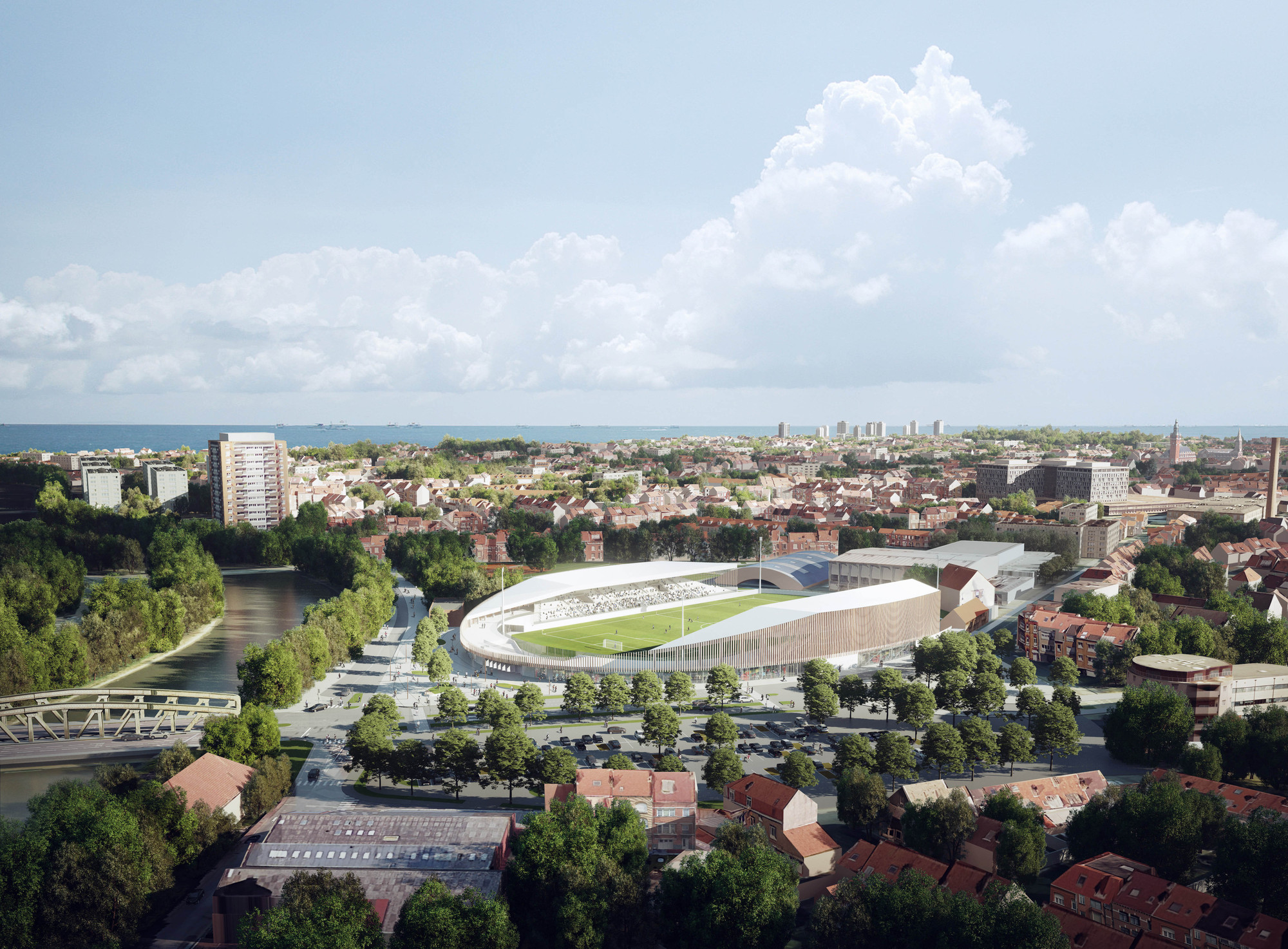 Design France Competition Winning Stadium Design Promotes Inclusivity In