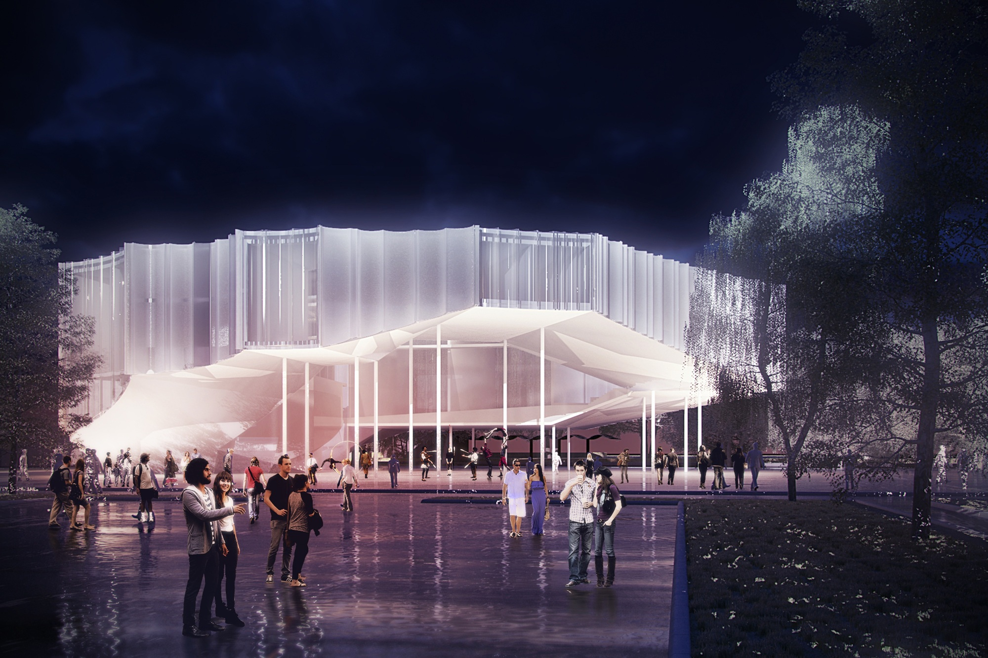 Regensburg Events Höweler + Yoon Architecture Unveils Circus Conservatory