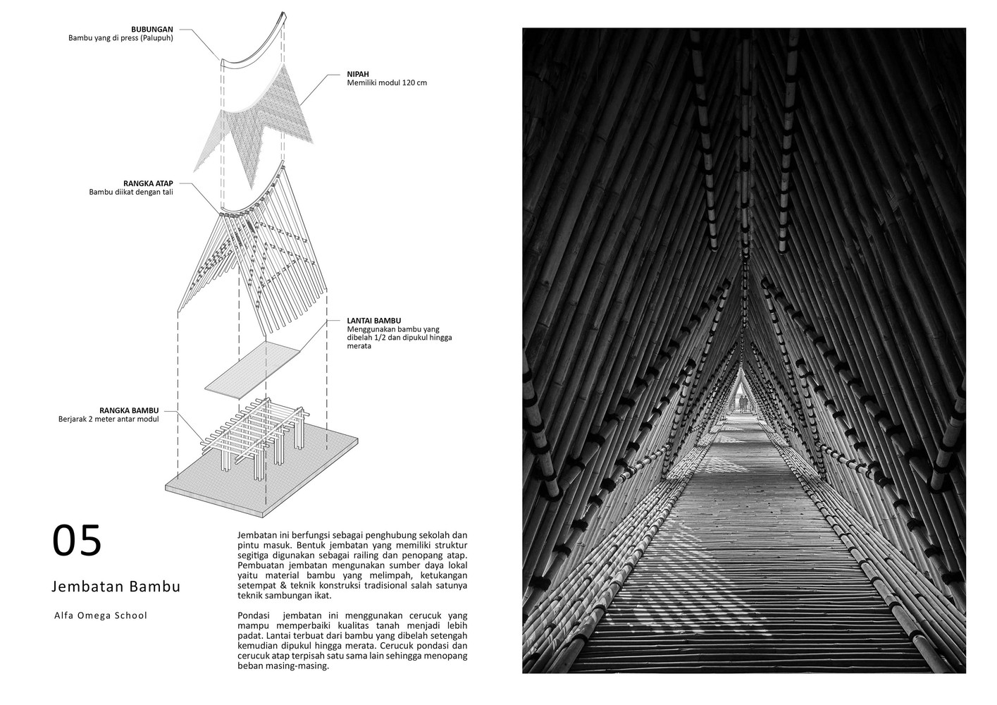 Beban Atap Gallery Of School Of Alfa Omega Raw Architecture 74