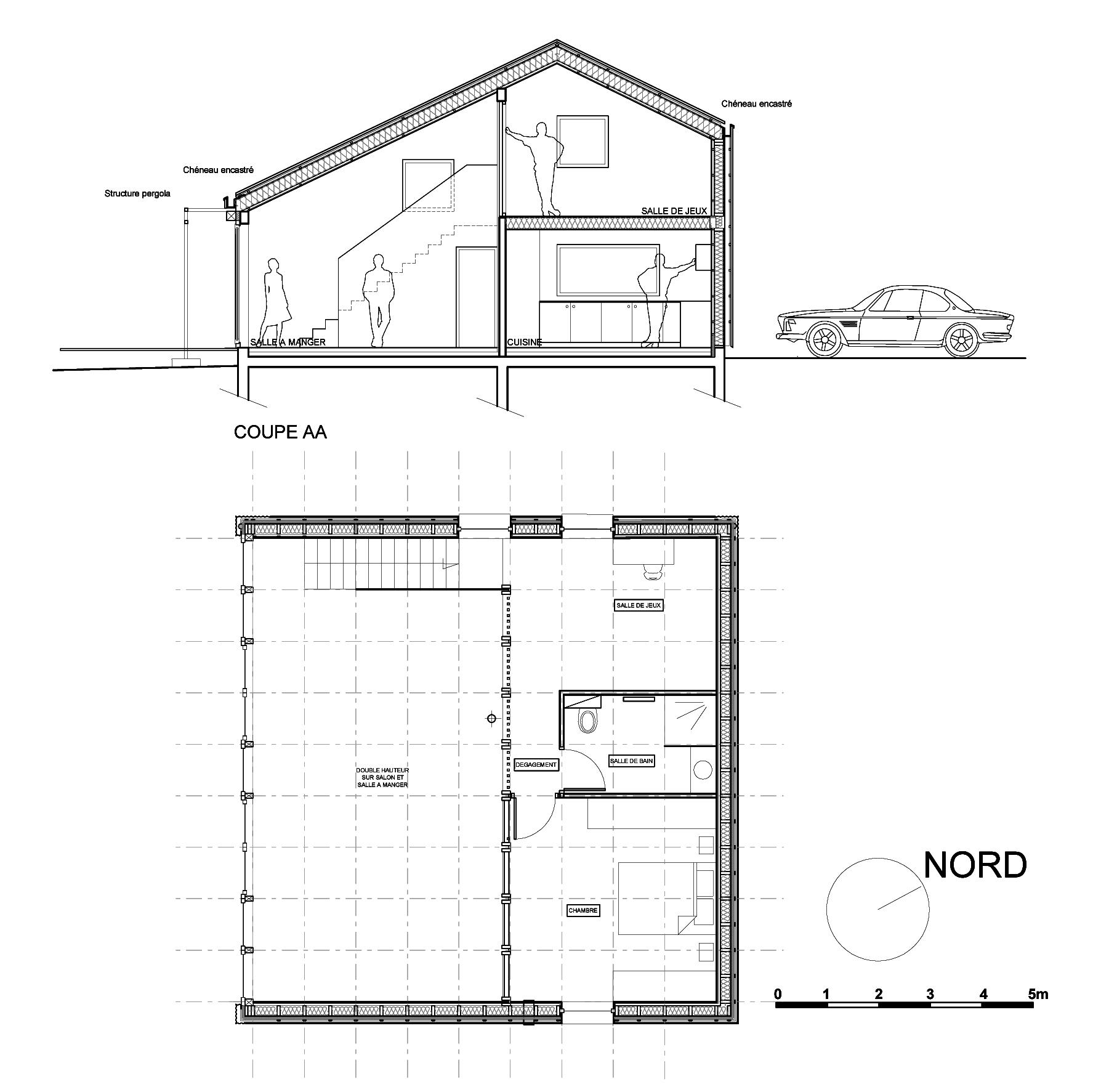 schematic diagram house
