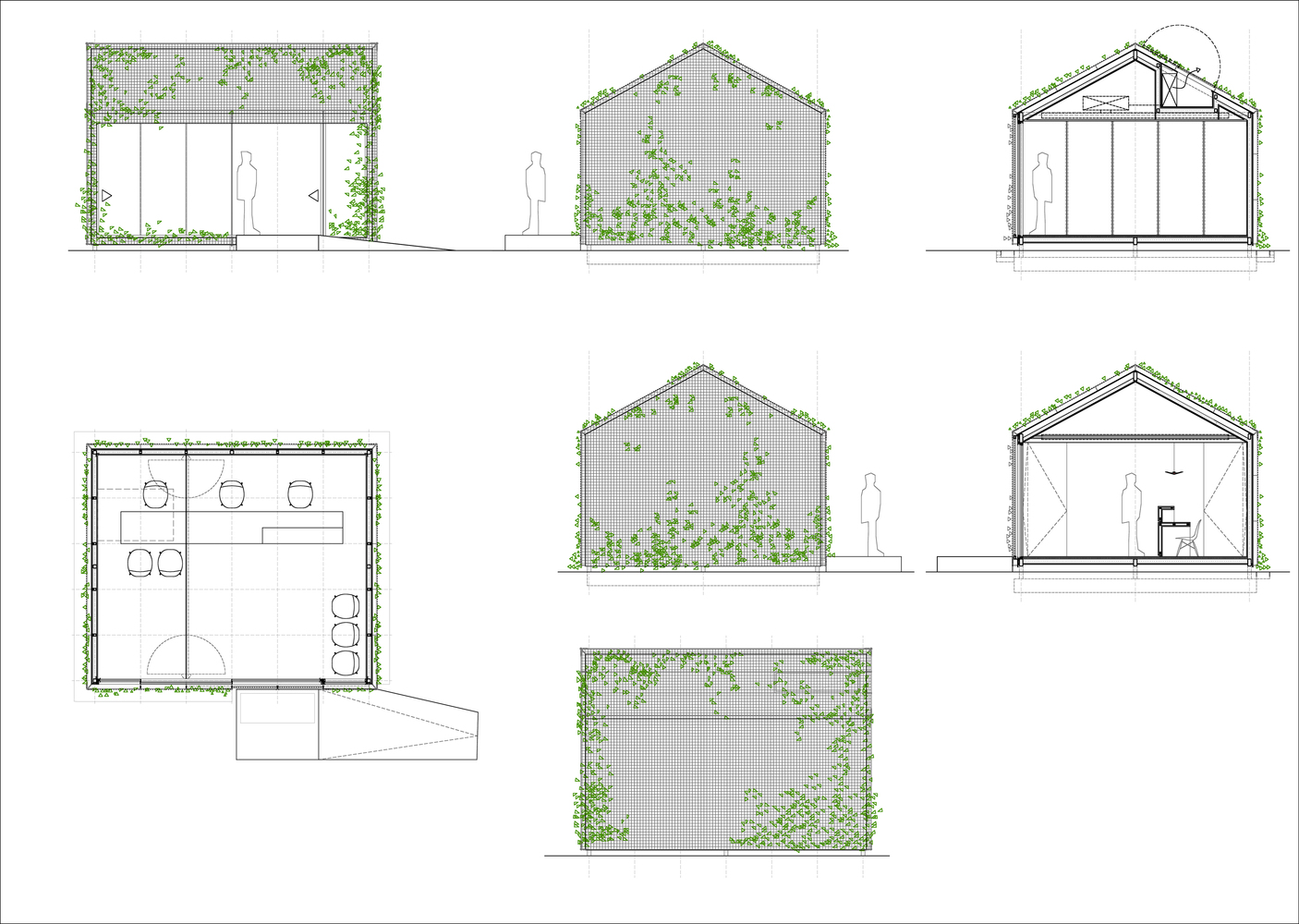 Office Plans Gallery Of Tennis Padel School Office Beta ø Architecture