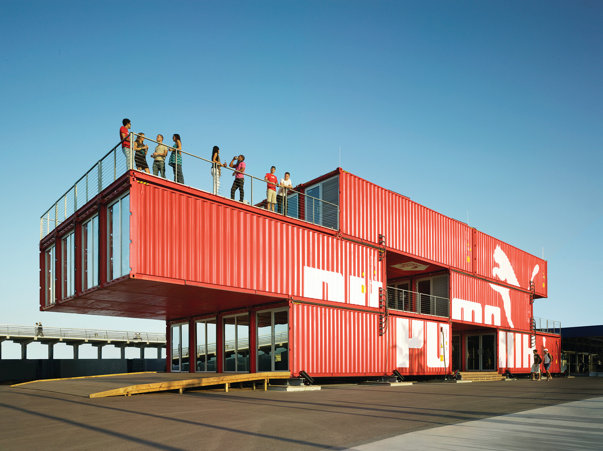 Container Haus Plan Shipping Container Tag Archdaily