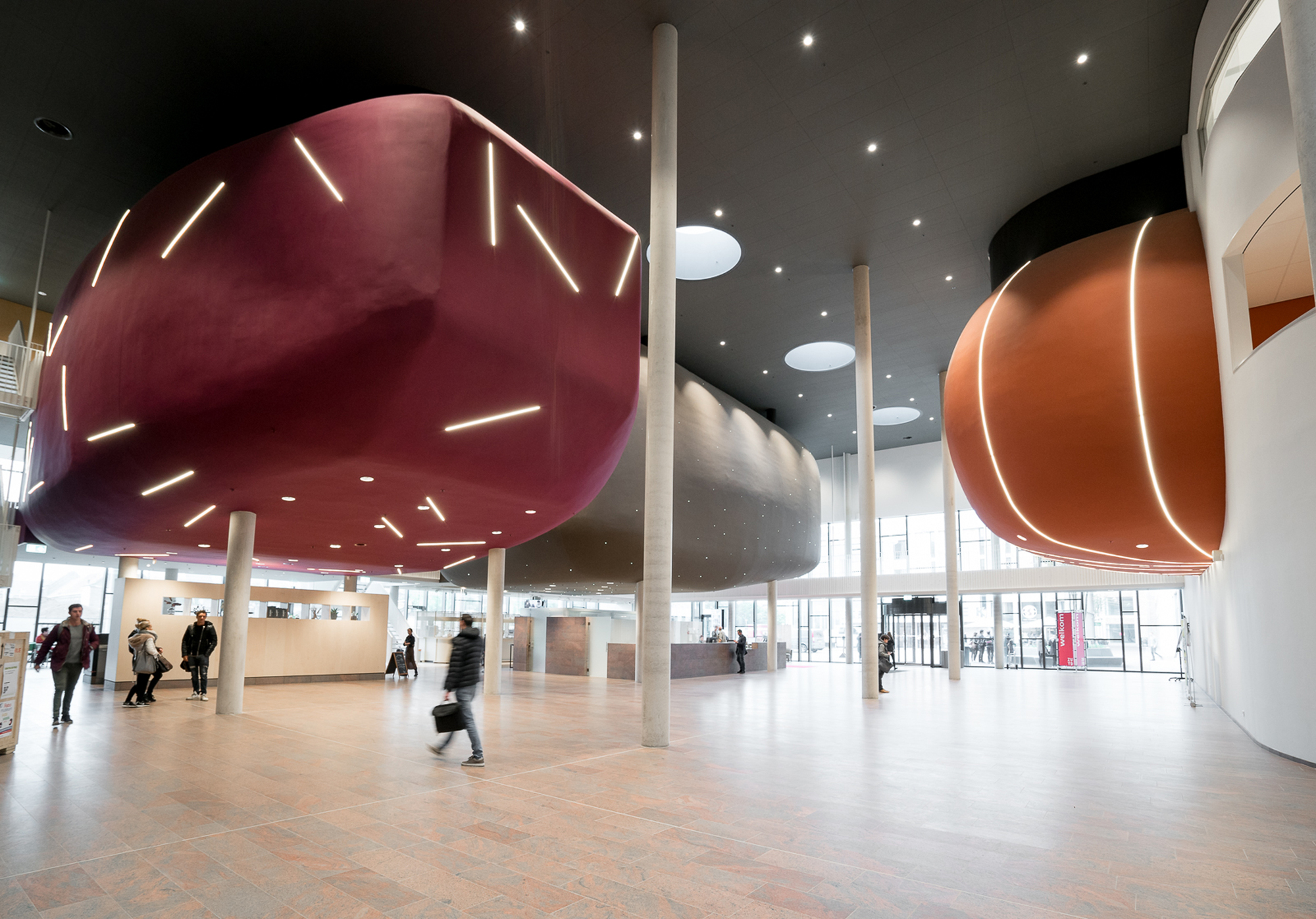 Interieur Design Sittard Culture And Education Center Jeanne Dekkers Architectuur Archdaily
