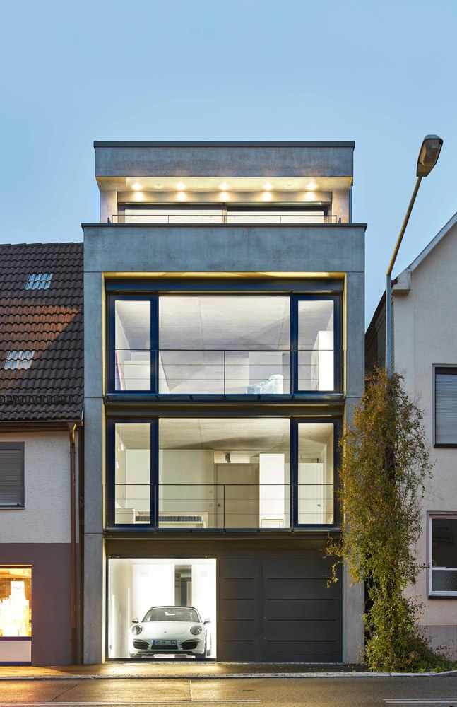 Architekt Bamberg Townhouse In Pfullingen / Bamberg Architektur | Building