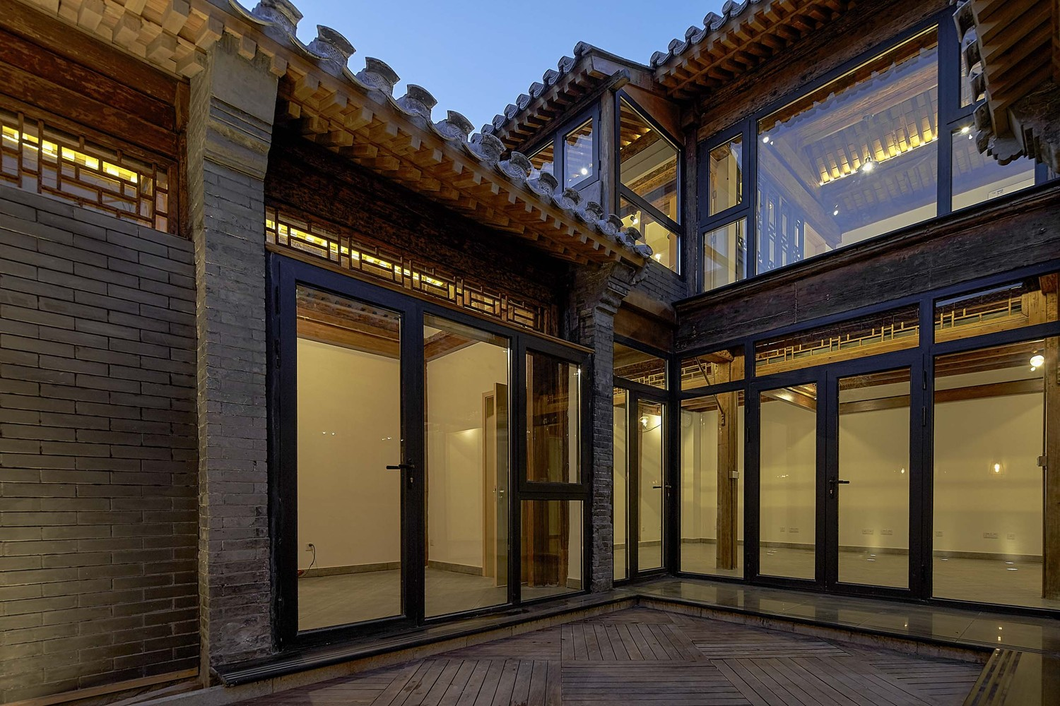 Renovation Facade Gallery Of Hutong Courtyard Renovation At Qianmen Street Super