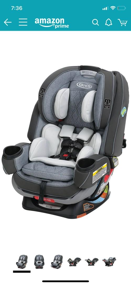 Medium Of Graco 4ever Car Seat