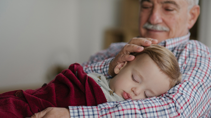 Baby Toddler Child Growth Should Grandparents Take Care Of Grandchildren During The