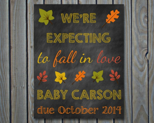 Newborn Baby Car Seats 7 Cool Fall Themed Pregnancy Reveal Ideas