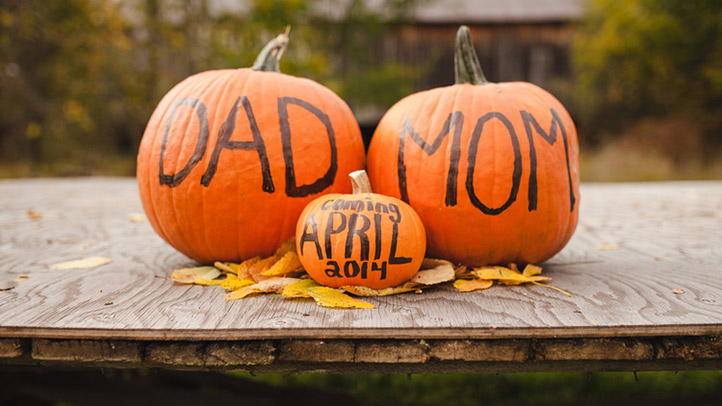 Baby Toddler Child Growth 8 Beautiful Fall Themed Pregnancy Announcements What To