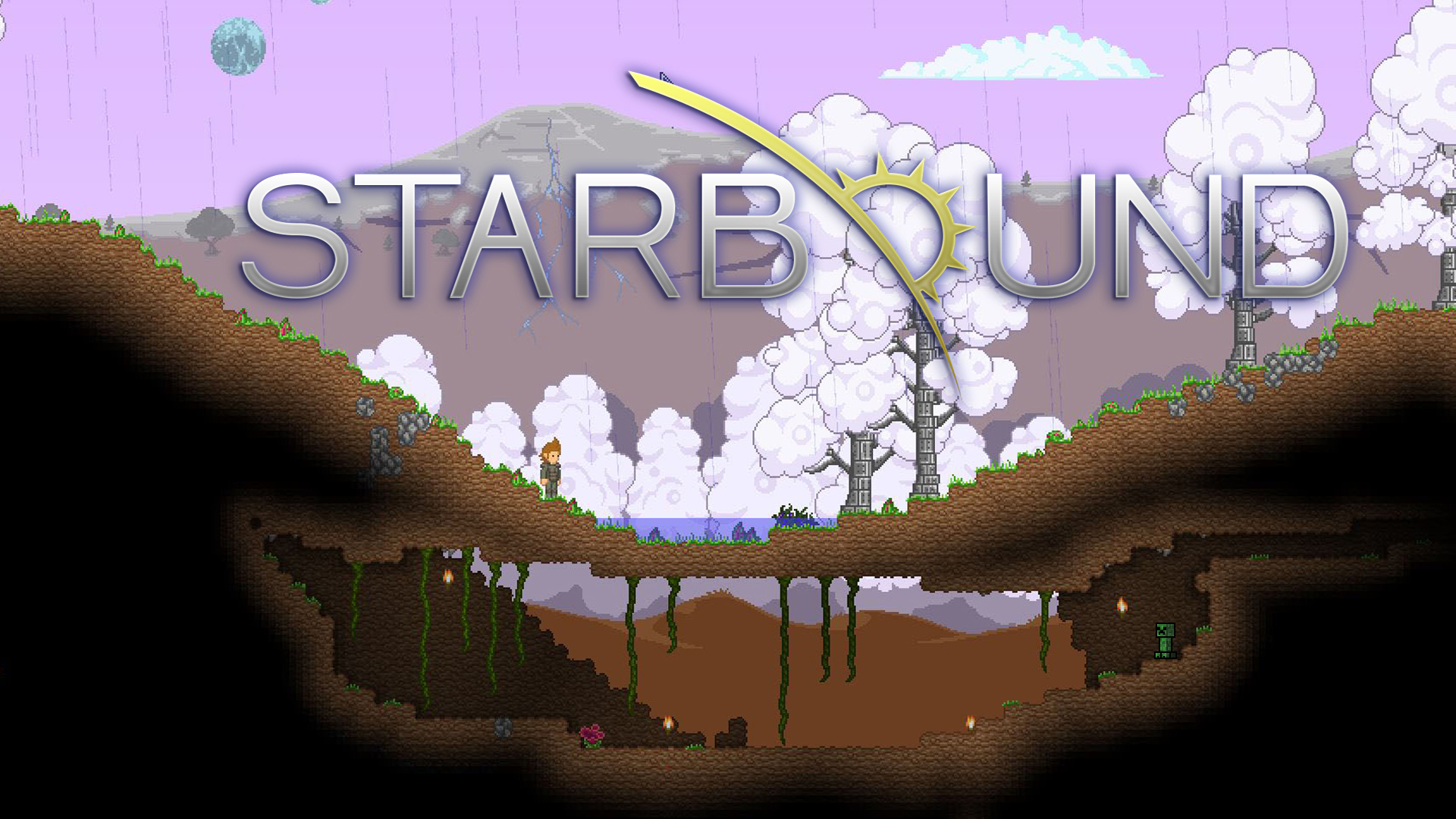 Hd Wallpaper 2014 Steam Community Simple Starbound Wallpaper