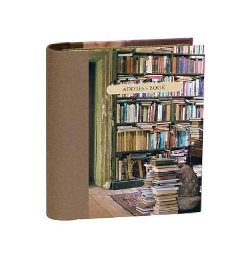 At Home with Books Mini Hardback Address Book (2017, Address Book