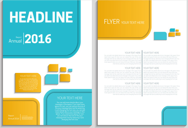 report cover template free - Alannoscrapleftbehind - annual report template