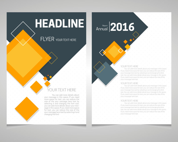 Promotion flyer template free vector download (14,044 Free vector - free pamphlet design