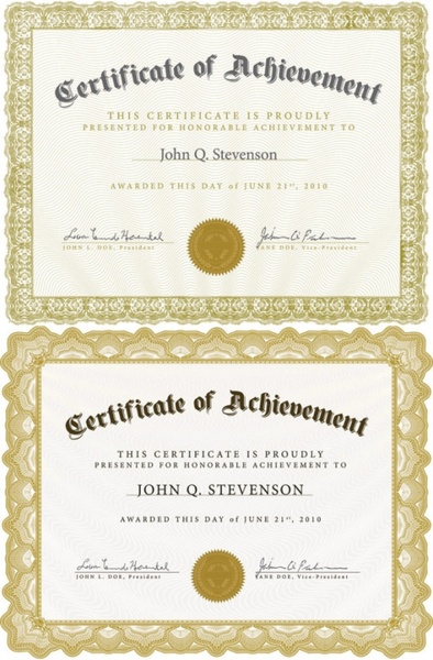 Certificate template free vector download (13,745 Free vector) for - Free Professional Certificate Templates