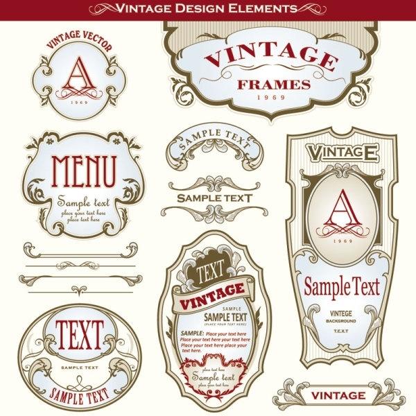 Bottle label design free vector download (9,045 Free vector) for